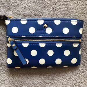 Kate Spade wristlet ♠️ New w/o tags polka dot